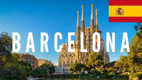 Barcelona Travel Vlog in Spain 2017 🇪🇸