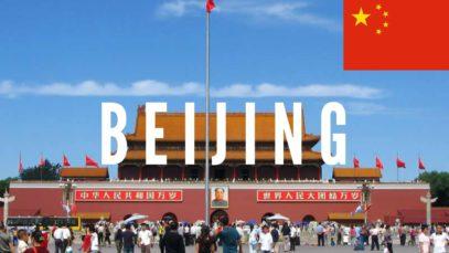 Beijing Travel Vlog in China 2016 🇨🇳