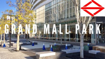 Grand Mall Park, Yokohama Travel Vlog in Japan 2017 🇯🇵