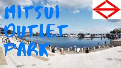 Mitsui Outlet Park, Yokohama Travel Vlog in Japan 2020 🇯🇵