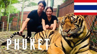 Phuket Travel Vlog in Thailand 2017 🇹🇭
