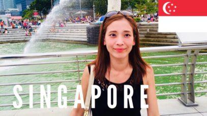Singapore Travel Vlog 2015 🇸🇬