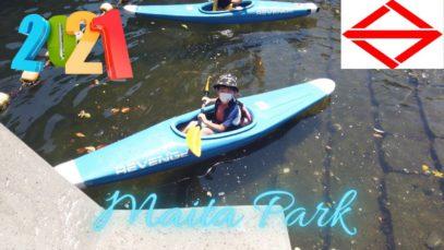 Canoeing in Makita Park   Yokohama Travel Vlog 🇯🇵
